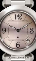 腕時計待受【シルバー】