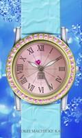 シンプル腕時計待受【ラウンド】【ゴールド】