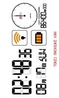 多機能デジタル待受[1DAYカウントダウン][ホワイト][横画面]